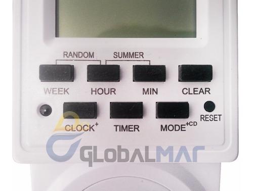 timer temporizador digital 110v 220v liga e desliga programa