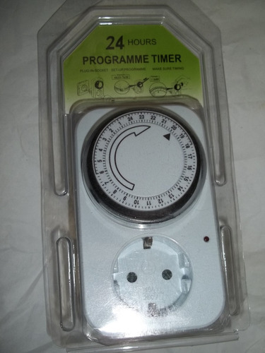 timer temporizador manual 24 horas potente - ahorre energia