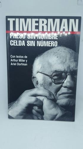 timerman preso sin nombre celda sin numero  - libro novela