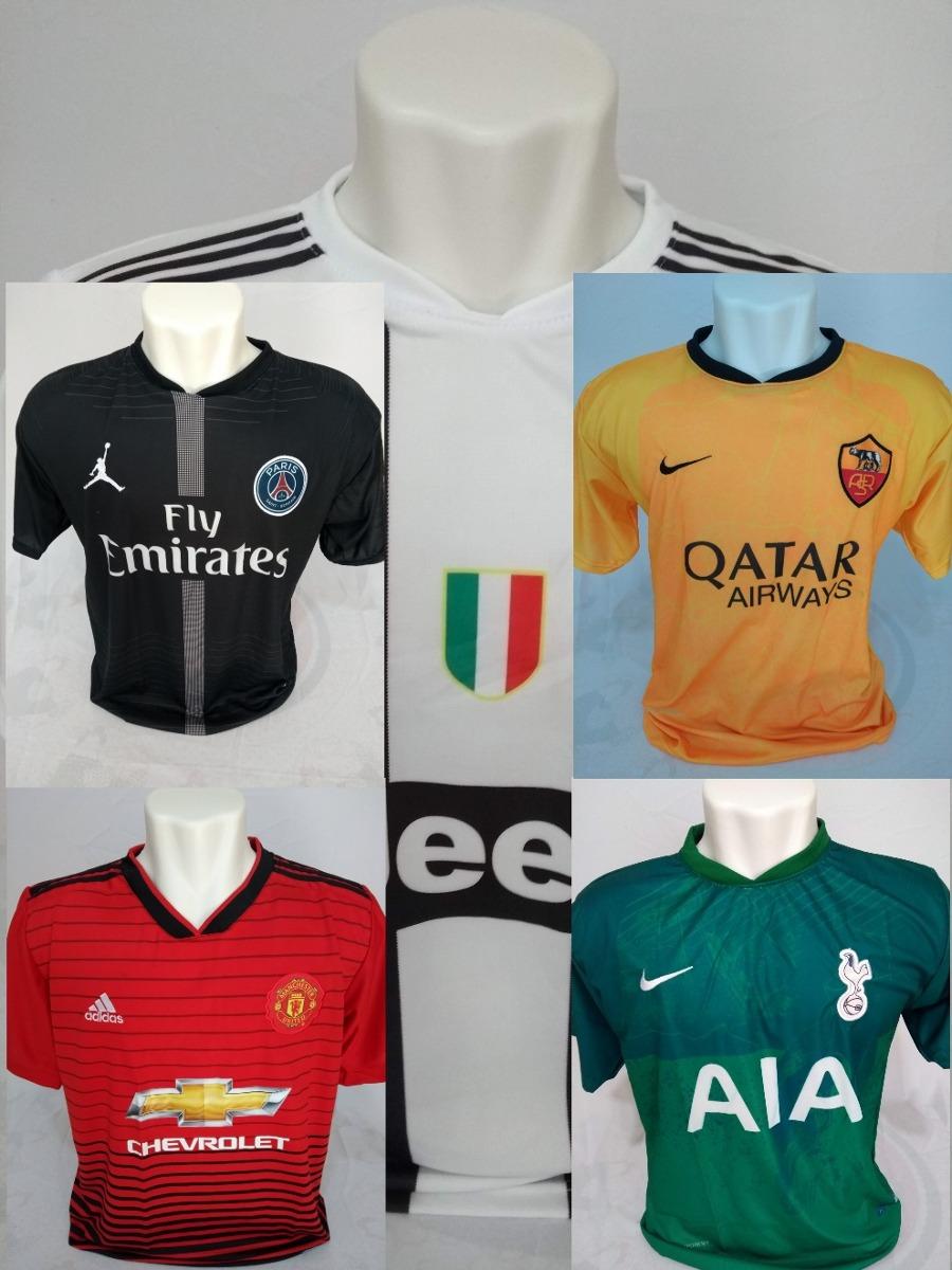 82eb644522 Camisa De Times Europeus Real Madri Barcelona Juventus - R  29