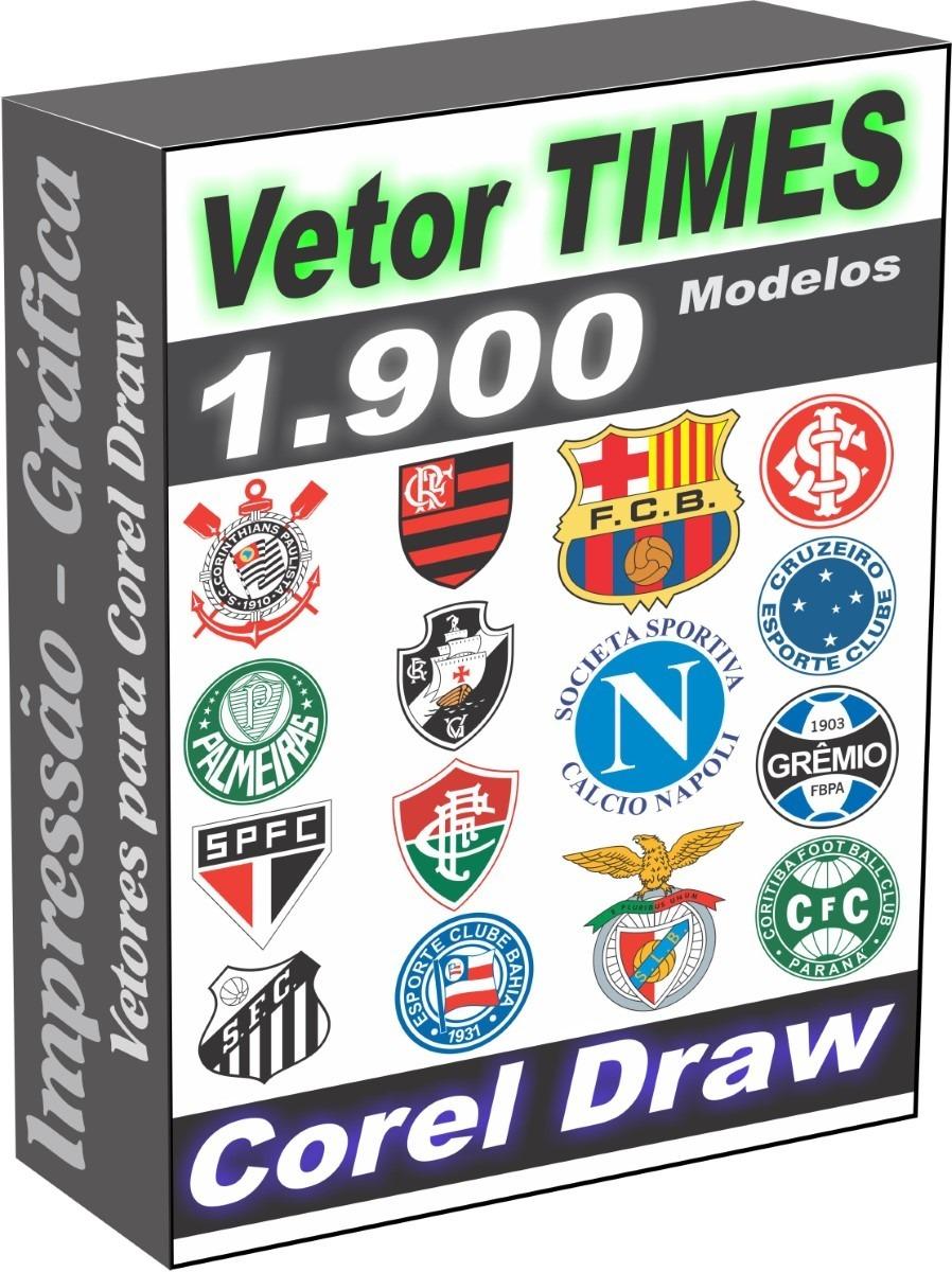 times futebol 1900 arquivos vetor corel draw  download . Carregando zoom. d23770e7216c6