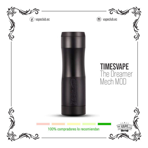 timesvape the dreamer mech mod vape cigarrillo electronico