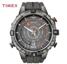 a81ed45e3d12 Reloj Timex Con Brujula Y Termometro En Acero en Mercado Libre México