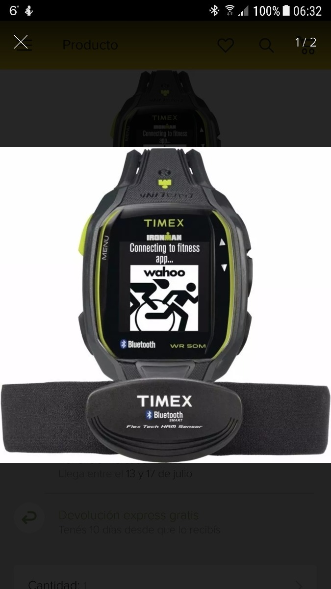 eb3a57b978d5 timex ironman run x50+ cardio. Cargando zoom.