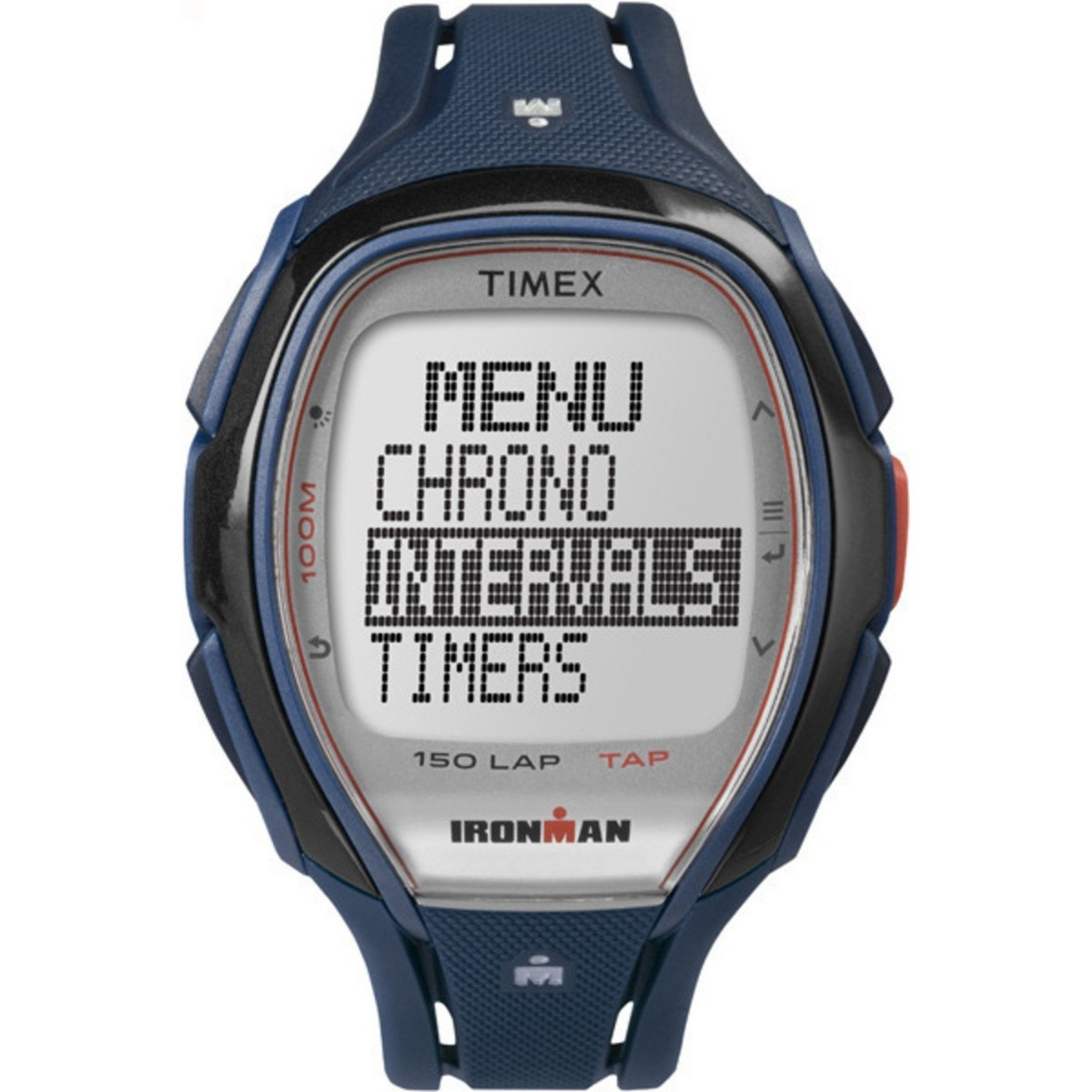 0201471f0e43 Timex Ironman Sleek 150 Lap Unisex Blue Tw5k96500 -   6.237