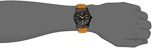 timex men's t2p133 highland street tan leather !