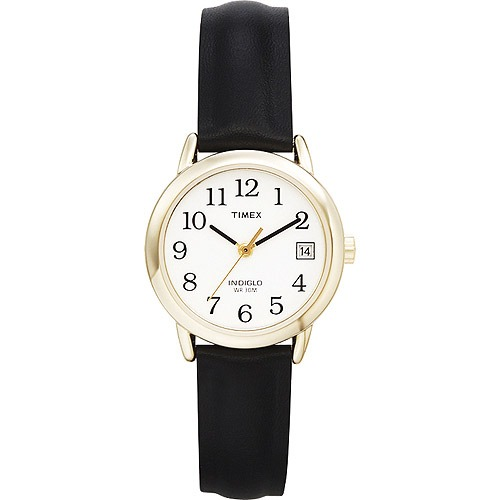 88c0b4b53c8e Timex Para Mujer C correa De Cuero Negro Reloj -   4.044