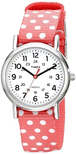 87a8f0516612 Timex Reloj Tw2p656009j Weekender Silver-tone Para Mujer Con ...
