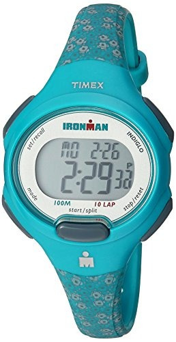 timex tw5m07200 ironman essential 10 - reloj de correa de re