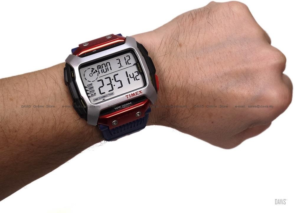 Bull® Resina Timex Cliff Red Diving X Tw5m20800 Command bYfyvgI76