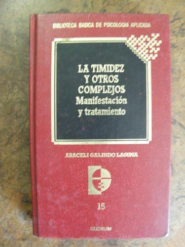 timidez y complejos galindo biblioteca psicología aplicada