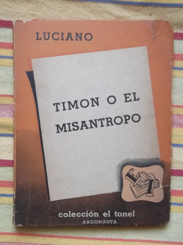 timon o el misántropo luciano 1945