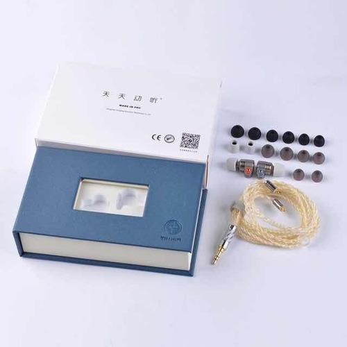 tin hi-fi t3 audífonos  híbrido 1dd + 1ba knowles
