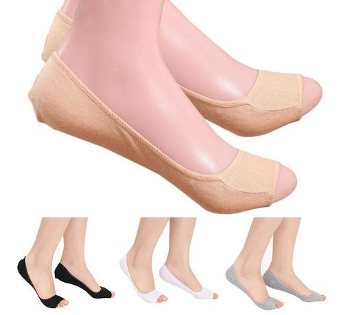 tin invisible protector zapato punta abierta tacones damas