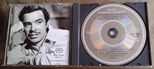 tin tan canciones de sus peliculas cd  vol 2 discos orfeon