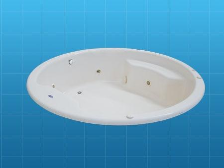 Tina de baño sin hidromasaje, bañera formacryl aconcagua ...