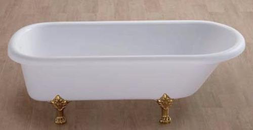 tina de baño estilo antigua marfil vintage sin hidromasaje