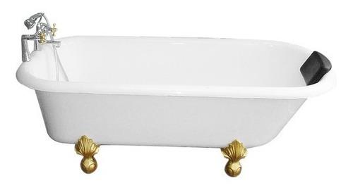 tina de baño vintage blanco antigua 1.67x.77