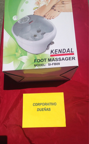 tina de pedicure all in one foot spa bath massager w/ heat,