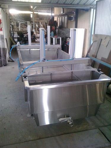 tina. desuerador. prensas. tanques de proceso bach