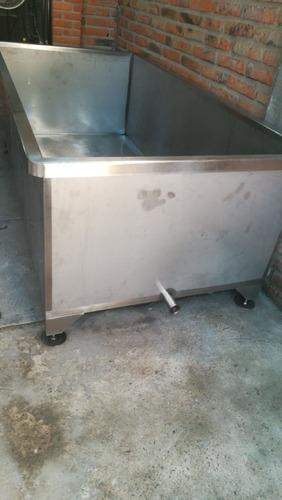 tina para cuajar leche en inox 304 cal 10 y 12 para 4,000 l,