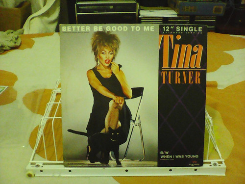tina turner - better be good to me - single