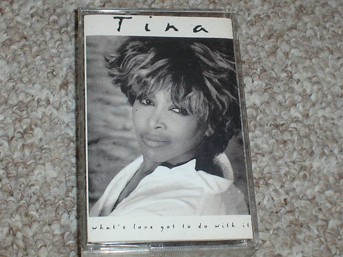 tina turner cassette what's love got to do with it. 1993