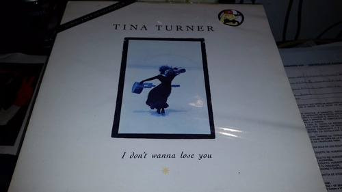 tina turner i don't wanna lose you con poster excelente uk