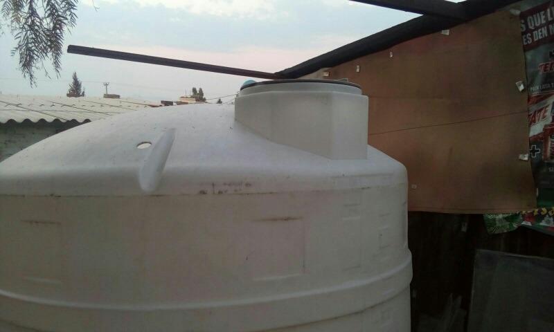 Tinaco rotoplas blanco 5000 lts ideal purificadoras for Cisterna de agua precio