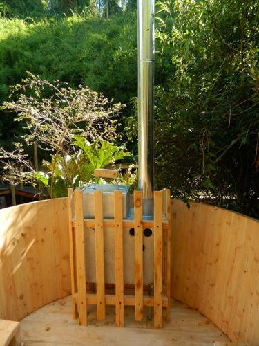 tinas calientes de maderas, hot tub para 2 personas.