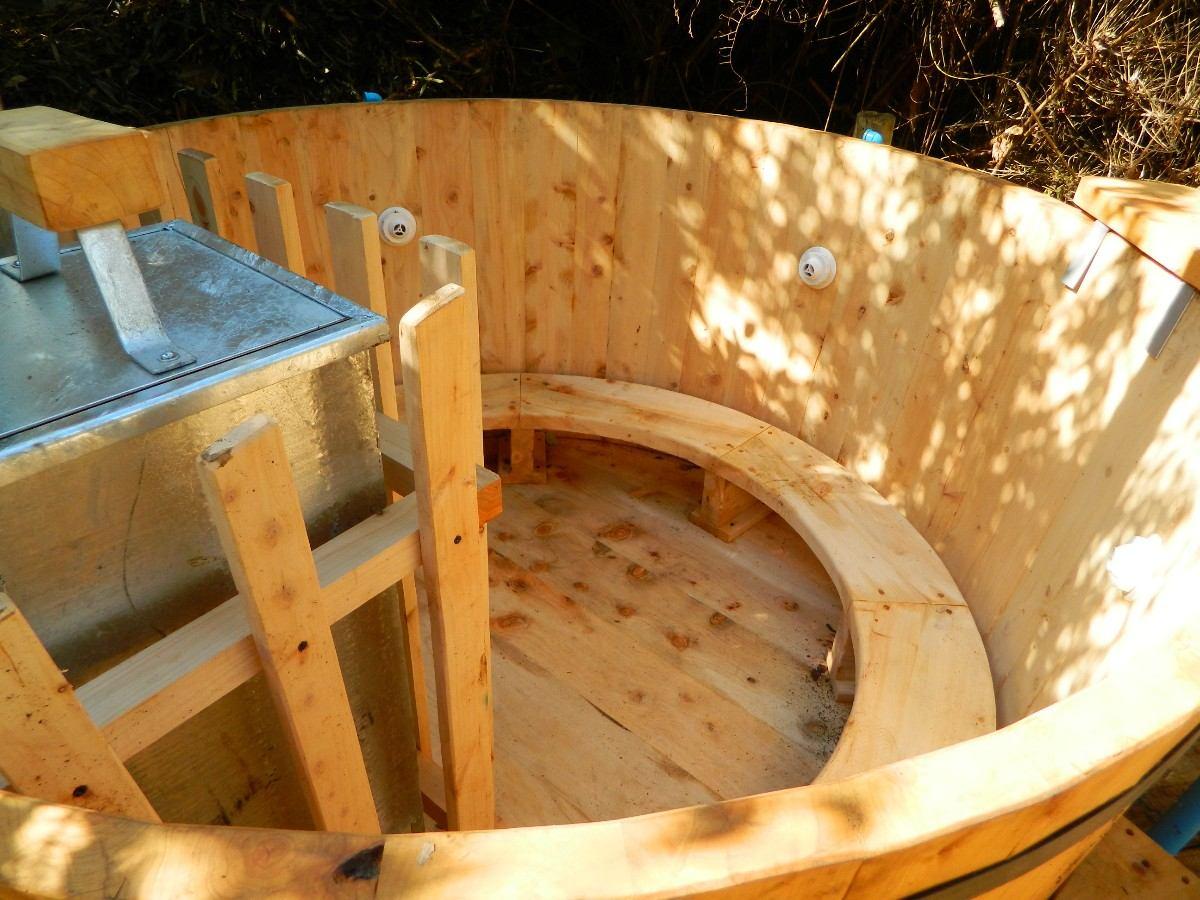 Tinas calientes de maderas hot tub para 8 personas 1 for Cuanto sale construir una piscina