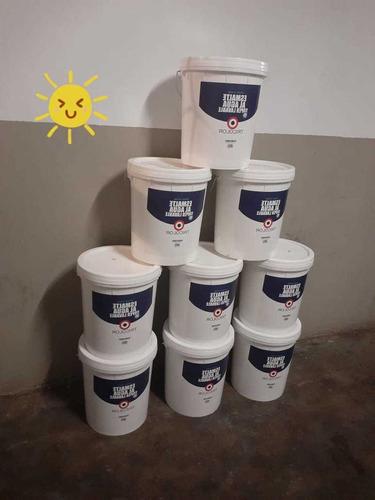 tinetas de pintura esmalte agua de 25 lt
