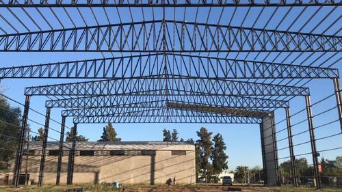 tinglado y galpones báez galpones  estructura