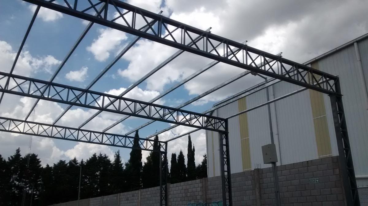 Tinglados A Una Y Dos Aguas Estructura Metalica