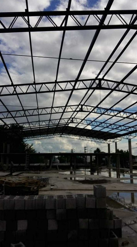 tinglados galpones galpon estructuras metalicas naves suelo