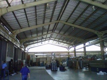 tinglados galpones techos