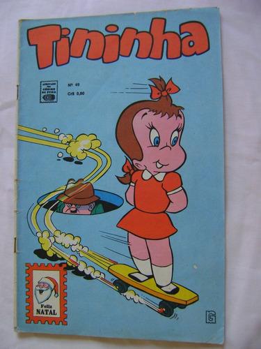 tininha nº 49 (edição colorida) 1971 rge raro e ótimo!