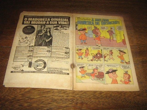 tininha nº 66 ano:1972 rio gráfica editora original