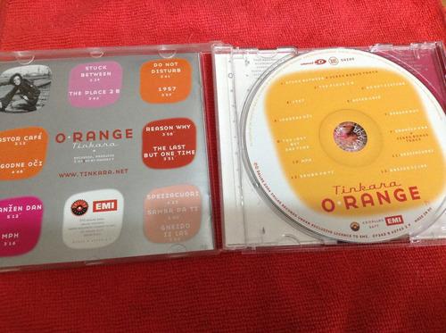 tinkara o range  cd album