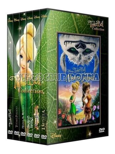 tinkerbell campanita coleccion completa saga peliculas 6 dvd