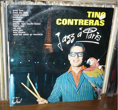 tino contreras lp jazz a paris hecho en francia