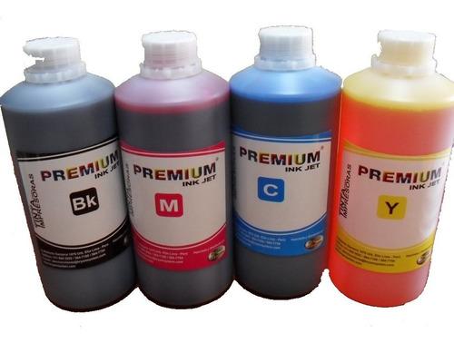 tinta 1/2 litro para sistemas continuos ciss hp canon epson