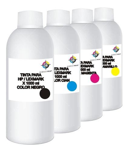 tinta 4 litros alternativa sistema continuo 1 litro x color