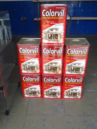 tinta acrílica 18 litros exterior - interior várias cores