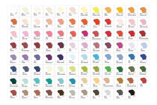 tinta acrílica acrilex nature colors cj 50 *pronta*entrega*