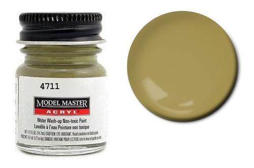 tinta acrílica armor sand [f] fs30277 model master 4711