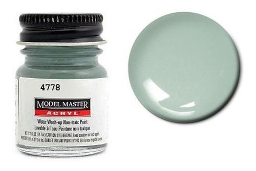 tinta acrílica hellblau rlm 65 [f] fs35352 model master 4778