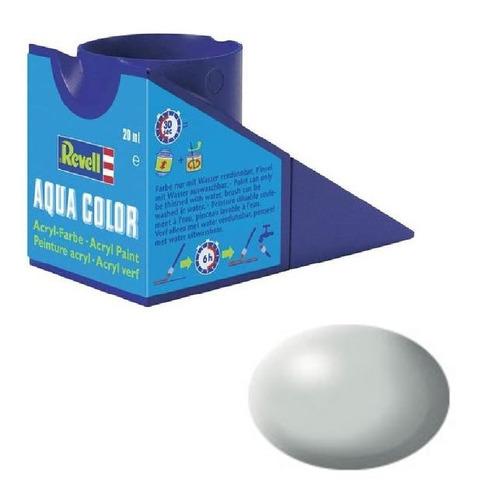 tinta acrílica light grey silk ral 7035 mat revell 36371