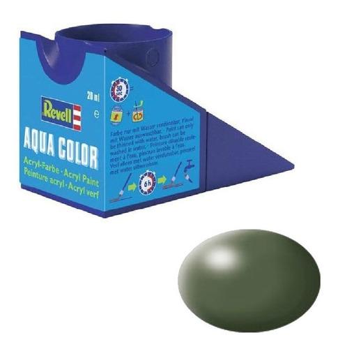 tinta acrílica olive green silk ral 6003 mat revell 36361