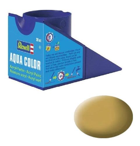 tinta acrílica revell sand yellow ral 1024 mat 18ml 36116
